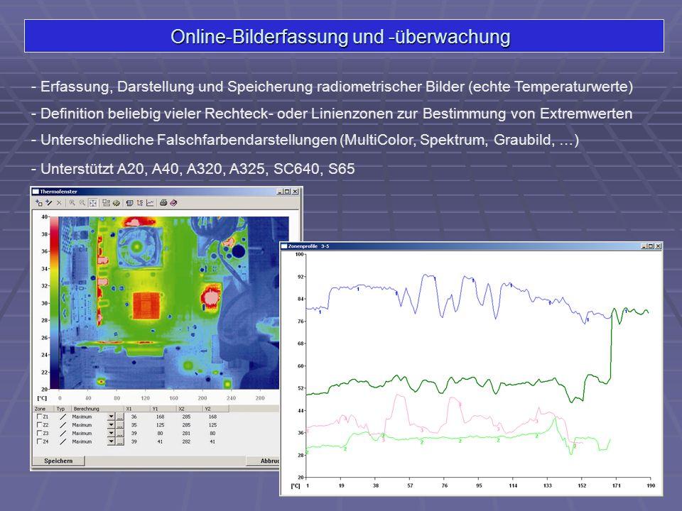 Online-Bilderfassung und -überwachung