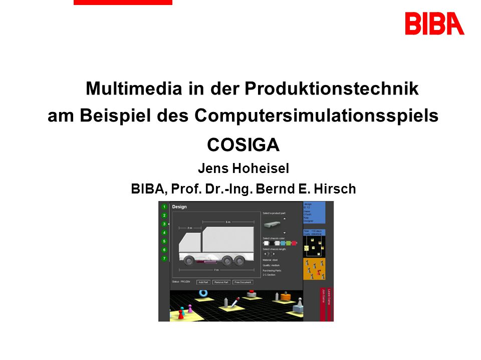 Multimedia in der Produktionstechnik