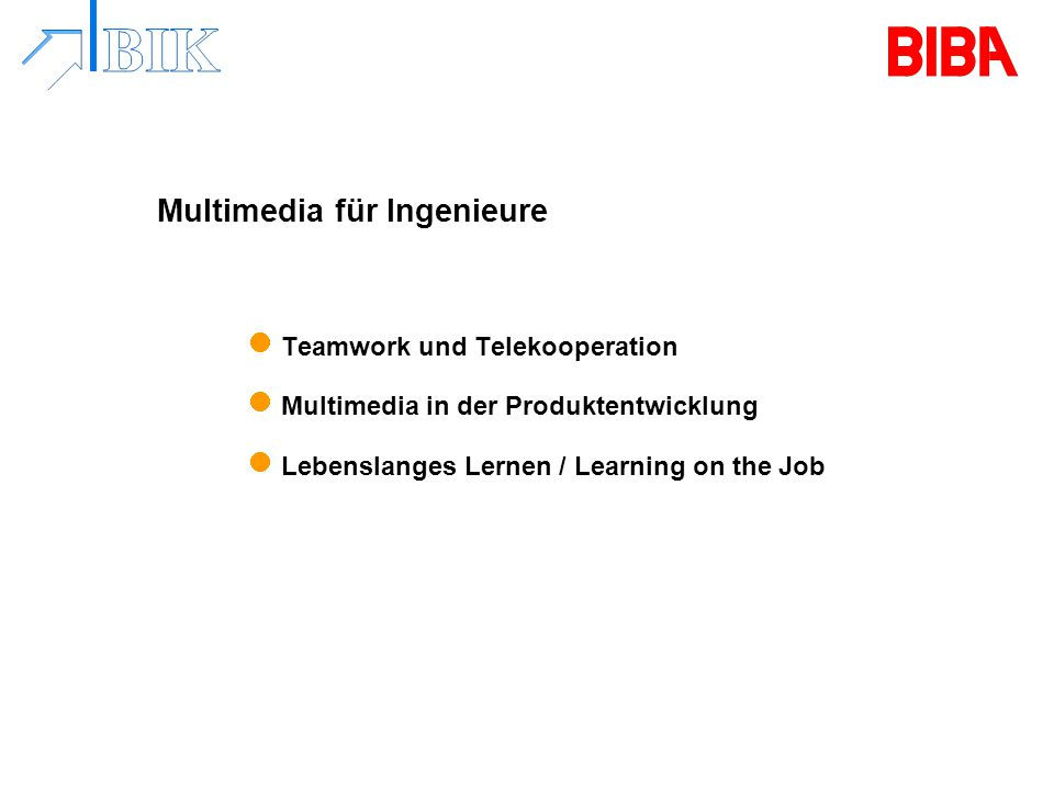 Multimedia für Ingenieure