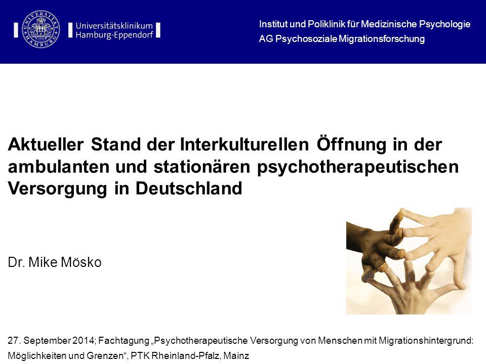 Institut und Poliklinik für Medizinische Psychologie