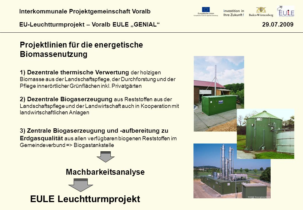 EULE Leuchtturmprojekt