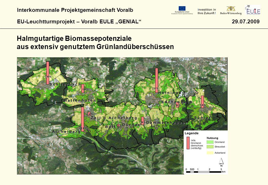 Halmgutartige Biomassepotenziale