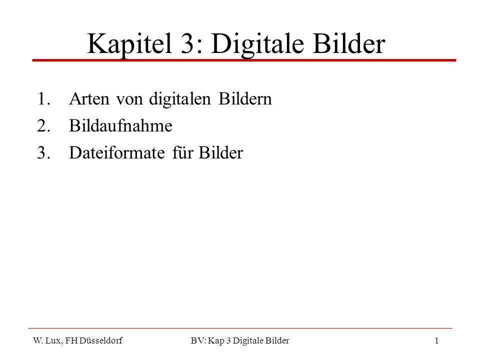 Kapitel 3: Digitale Bilder