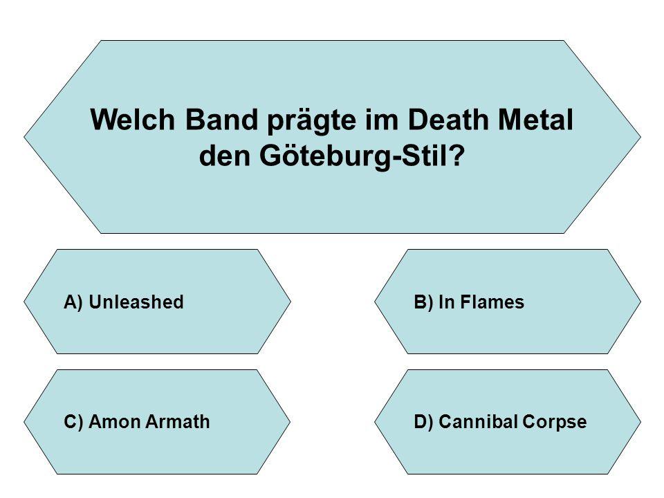 Welch Band prägte im Death Metal