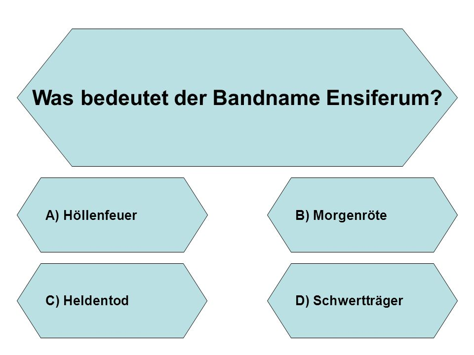 Was bedeutet der Bandname Ensiferum