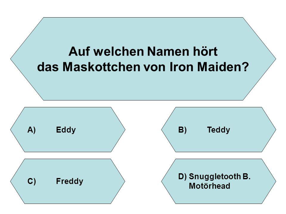 das Maskottchen von Iron Maiden