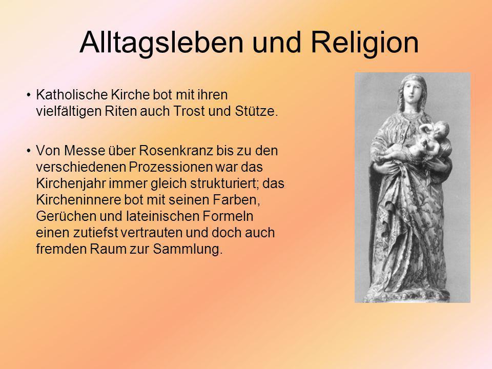Alltagsleben und Religion