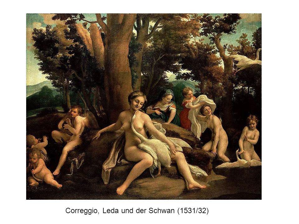Correggio, Leda und der Schwan (1531/32)