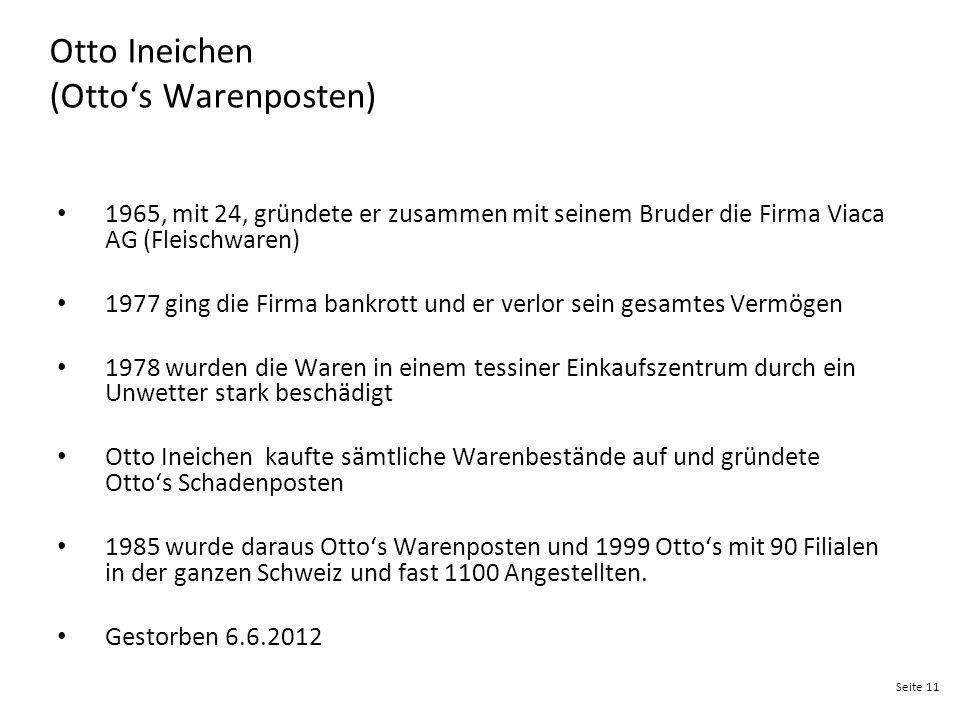 Otto Ineichen (Otto's Warenposten)