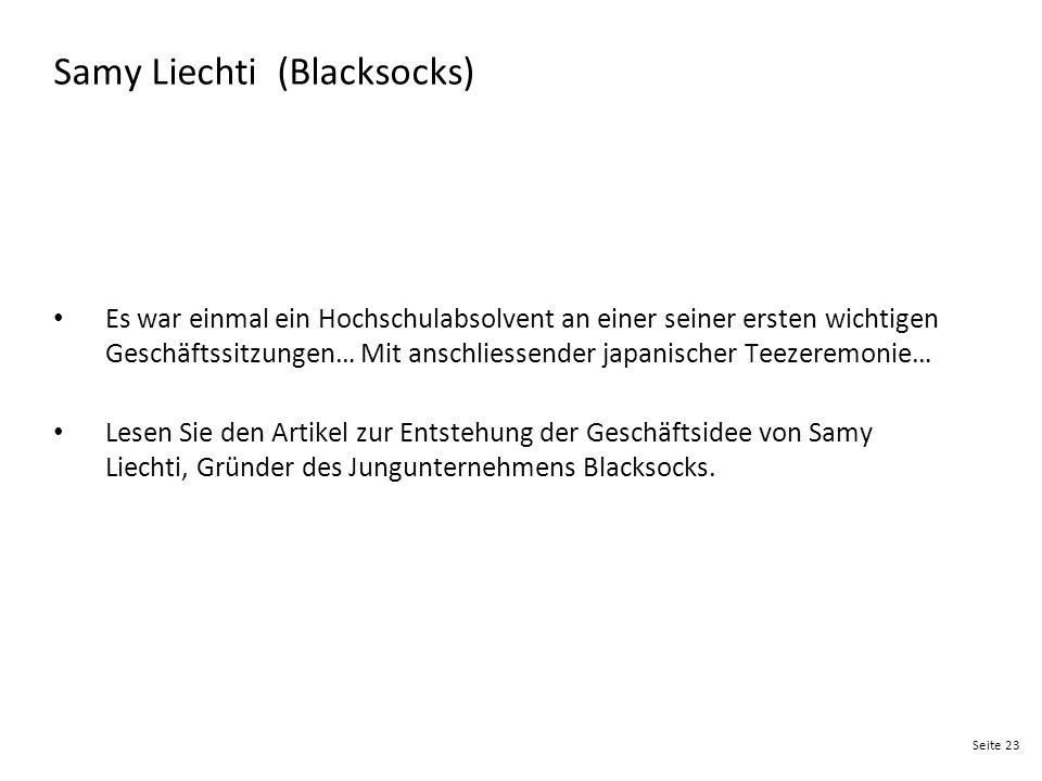 Samy Liechti (Blacksocks)