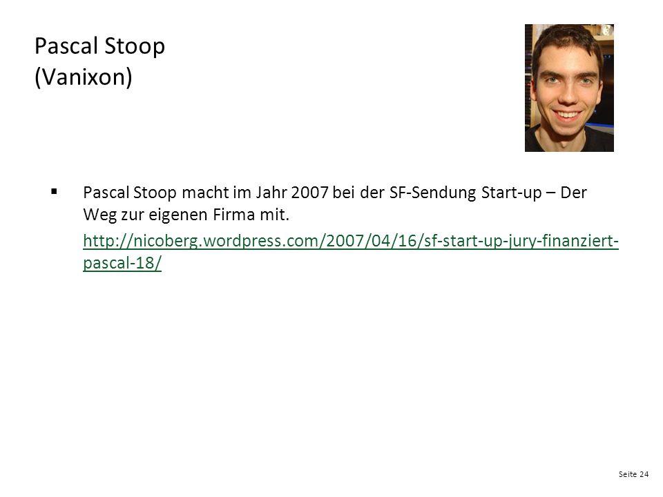 Pascal Stoop (Vanixon)