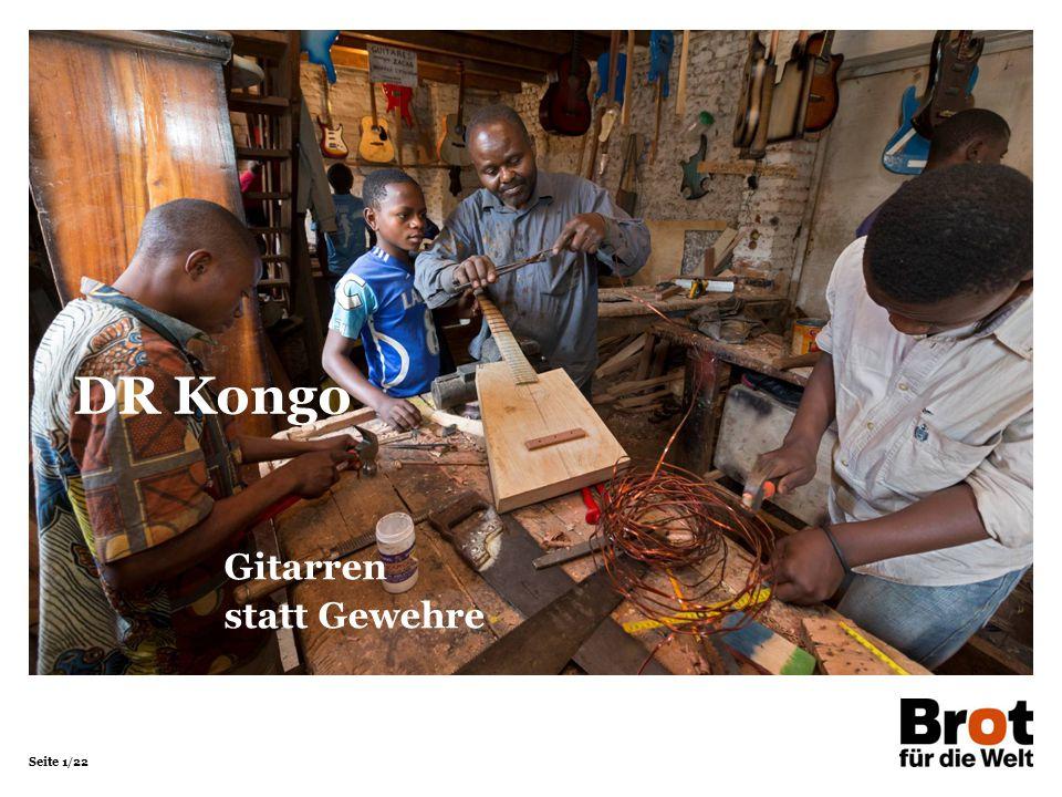 DR Kongo Gitarren statt Gewehre