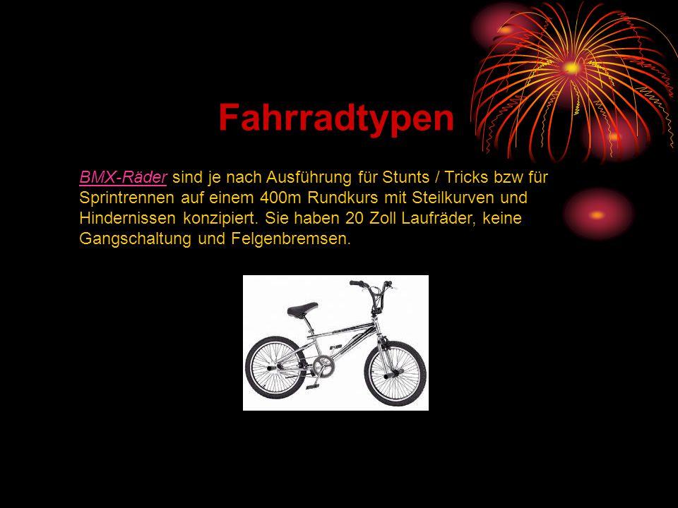 Fahrradtypen
