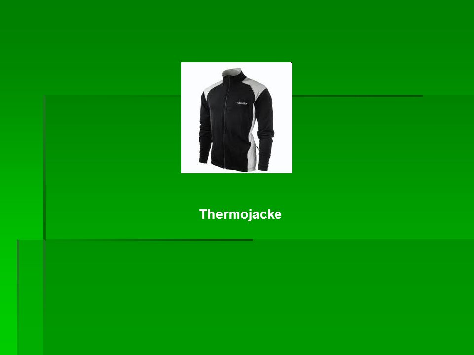 Thermojacke