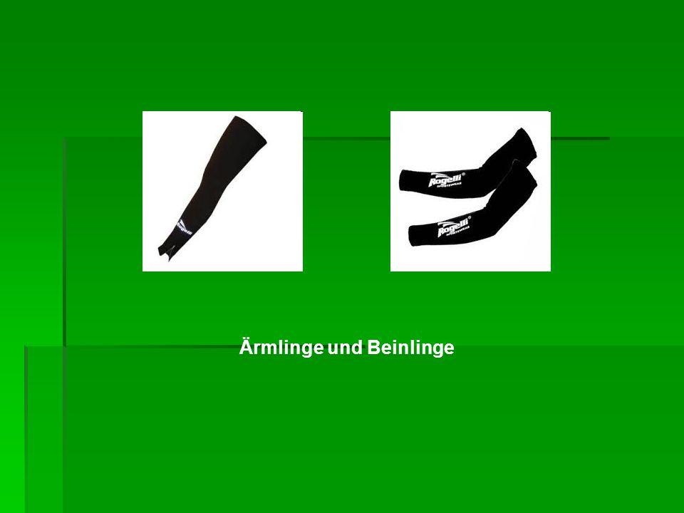 Ärmlinge und Beinlinge