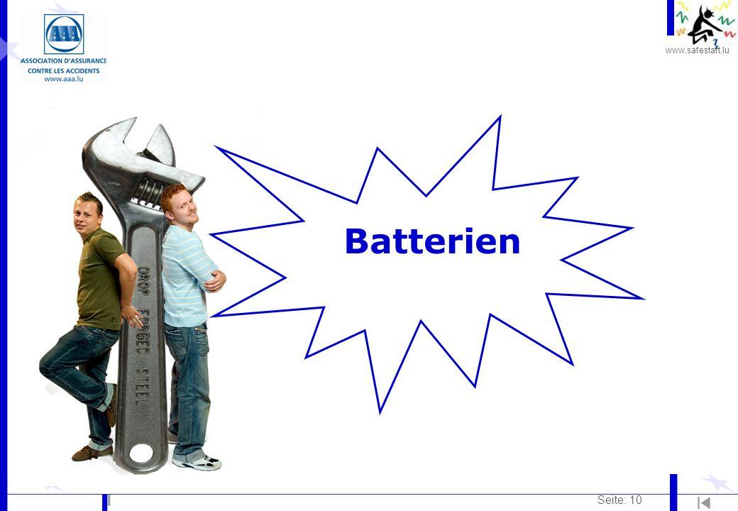 Batterien Seite: 10