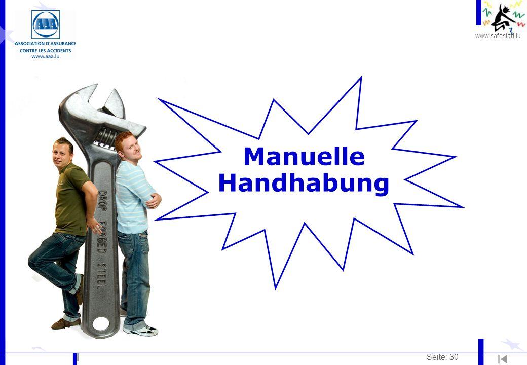 Manuelle Handhabung Seite: 30