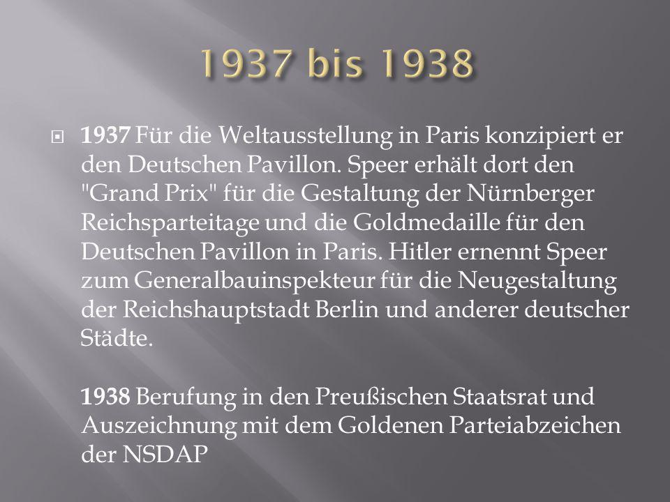 1937 bis 1938