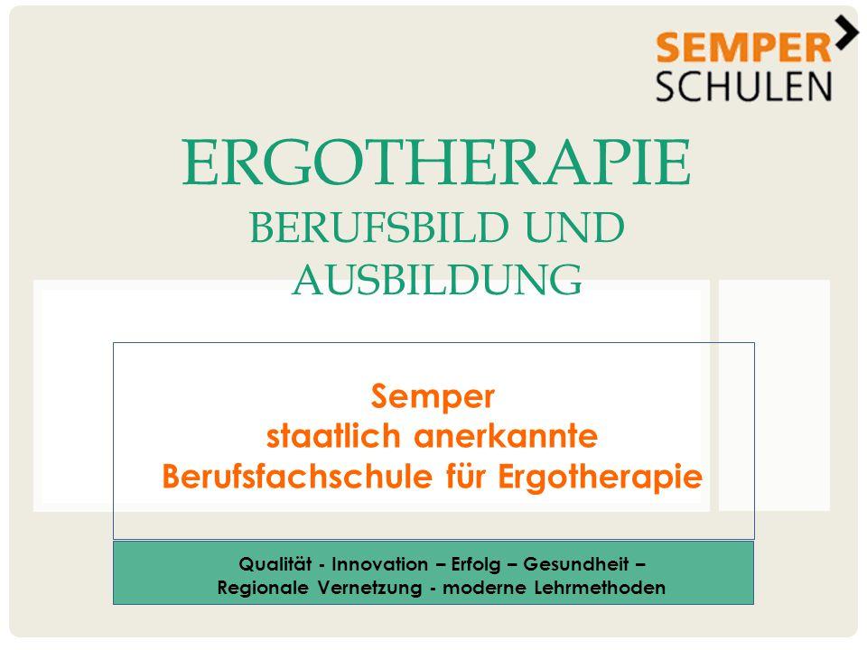 Ergotherapie Berufsbild und Ausbildung