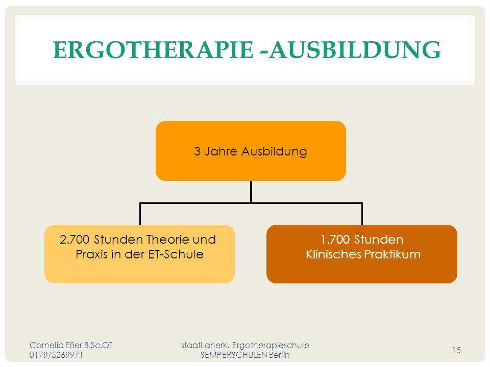 ERGOtherapie -Ausbildung