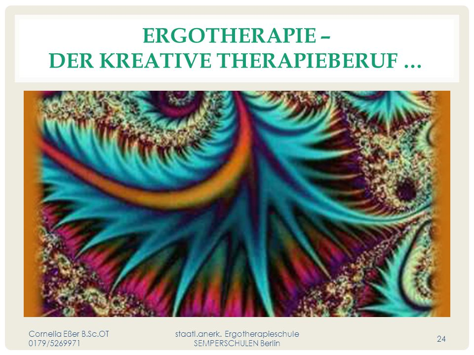 Ergotherapie – der kreative Therapieberuf …