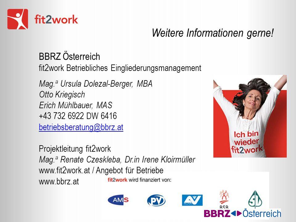 Weitere Informationen gerne! BBRZ Österreich