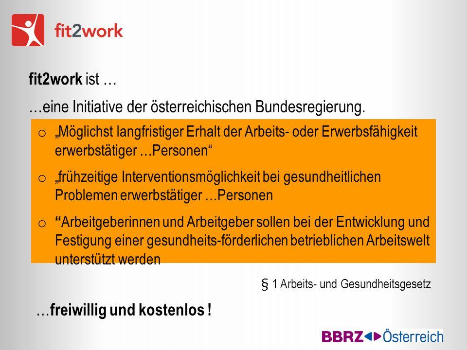 …eine Initiative der österreichischen Bundesregierung.