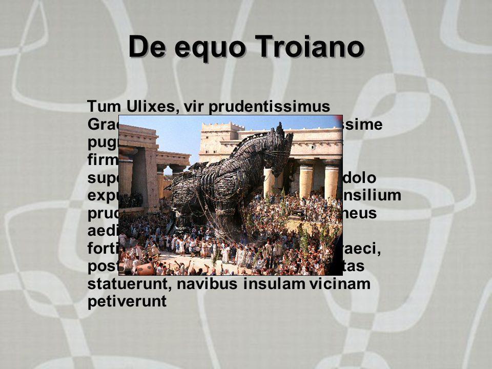 De equo Troiano