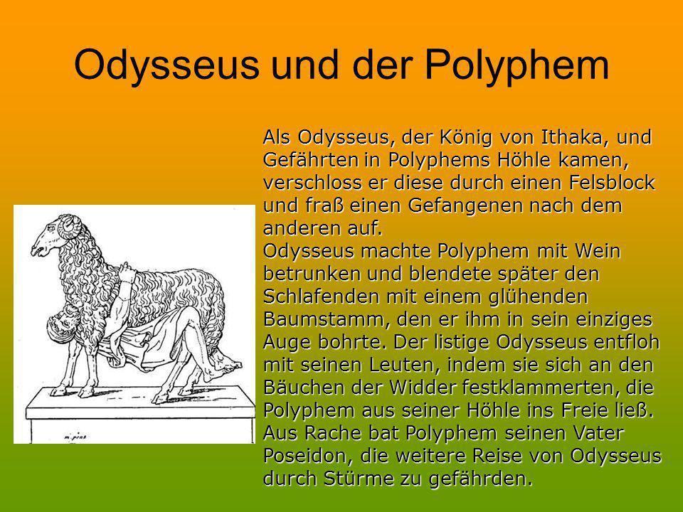 Odysseus und der Polyphem