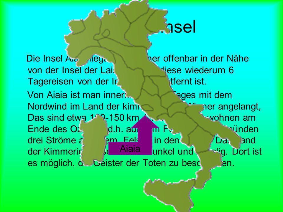 Lage der Insel