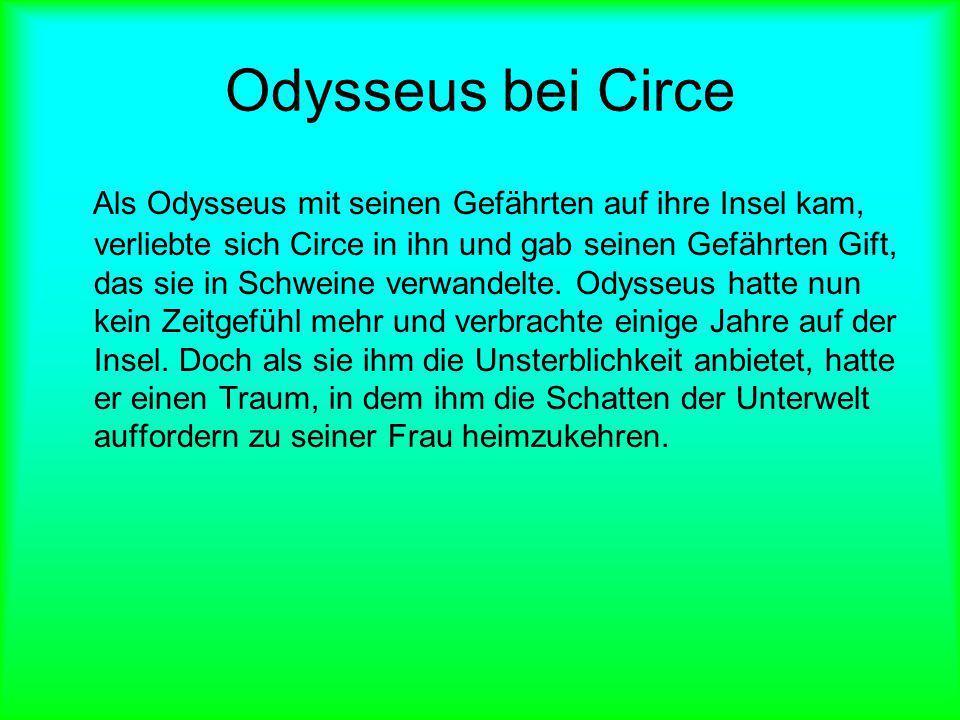Odysseus bei Circe