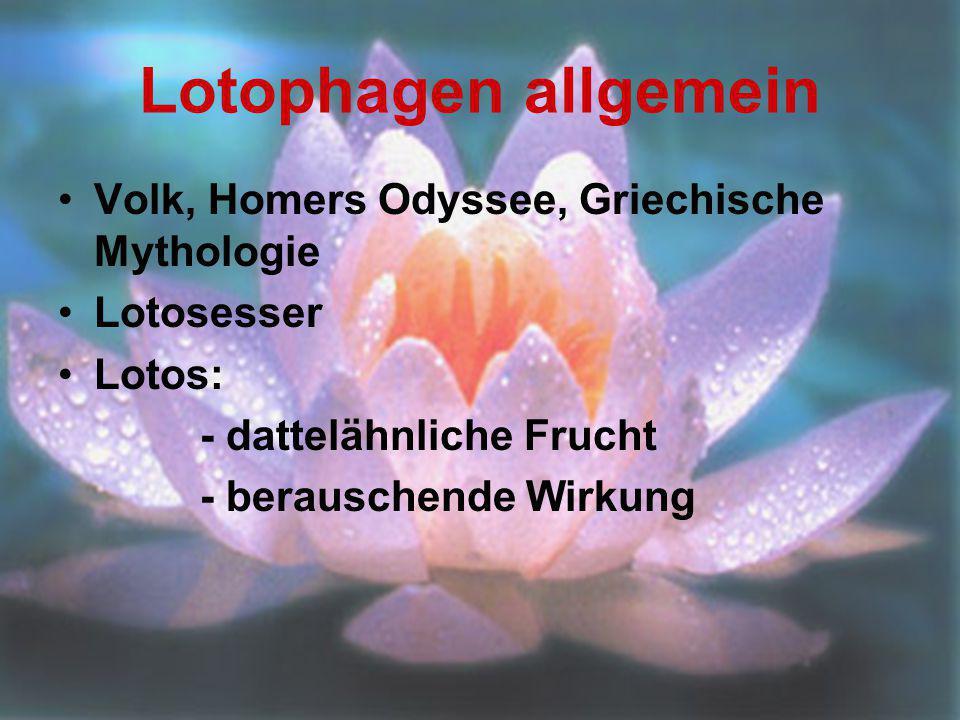 Lotophagen allgemein Volk, Homers Odyssee, Griechische Mythologie
