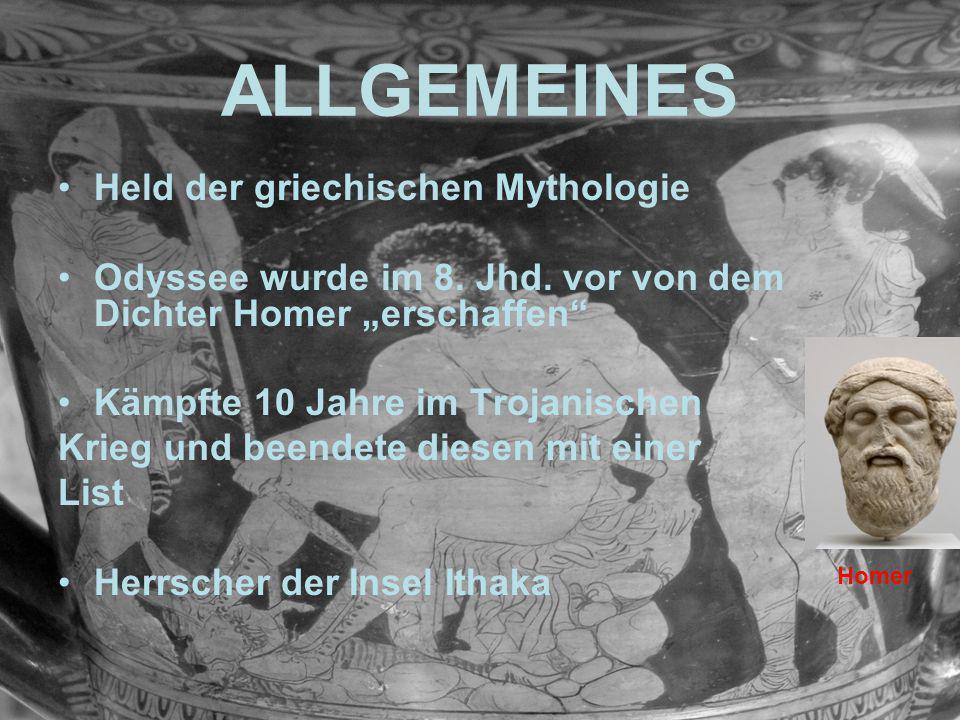 ALLGEMEINES Held der griechischen Mythologie