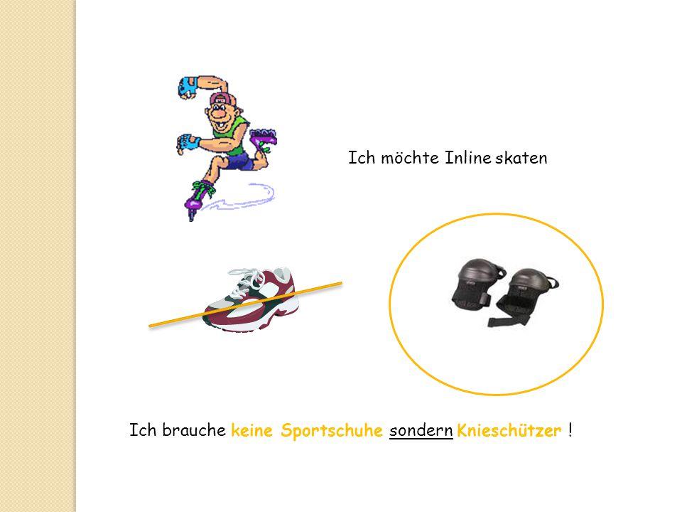 Ich möchte Inline skaten