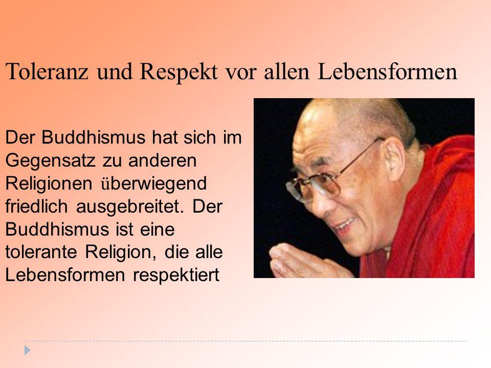 Toleranz und Respekt vor allen Lebensformen