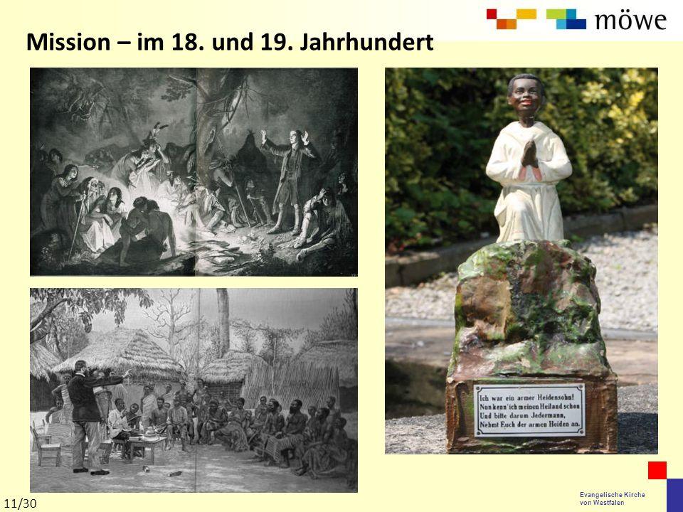 Mission – im 18. und 19. Jahrhundert