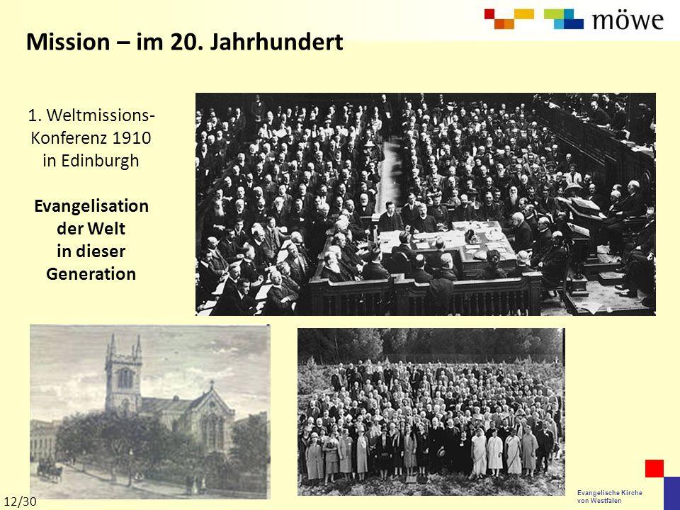 1. Weltmissions-Konferenz 1910