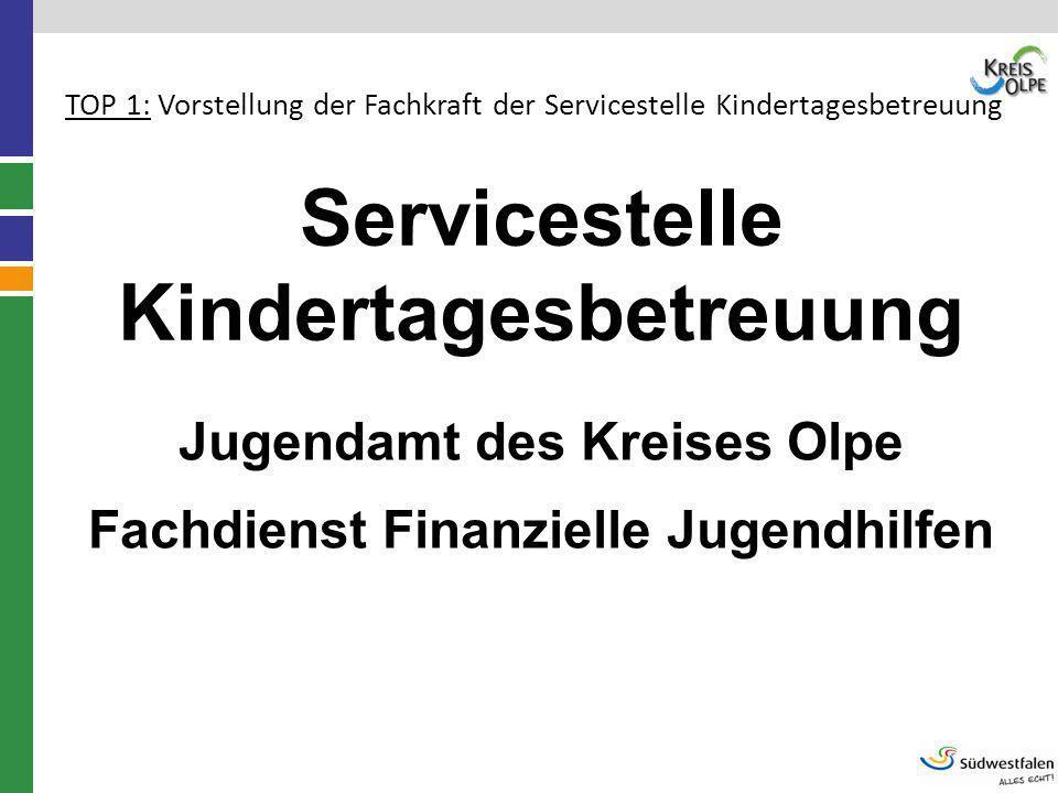 Servicestelle Kindertagesbetreuung
