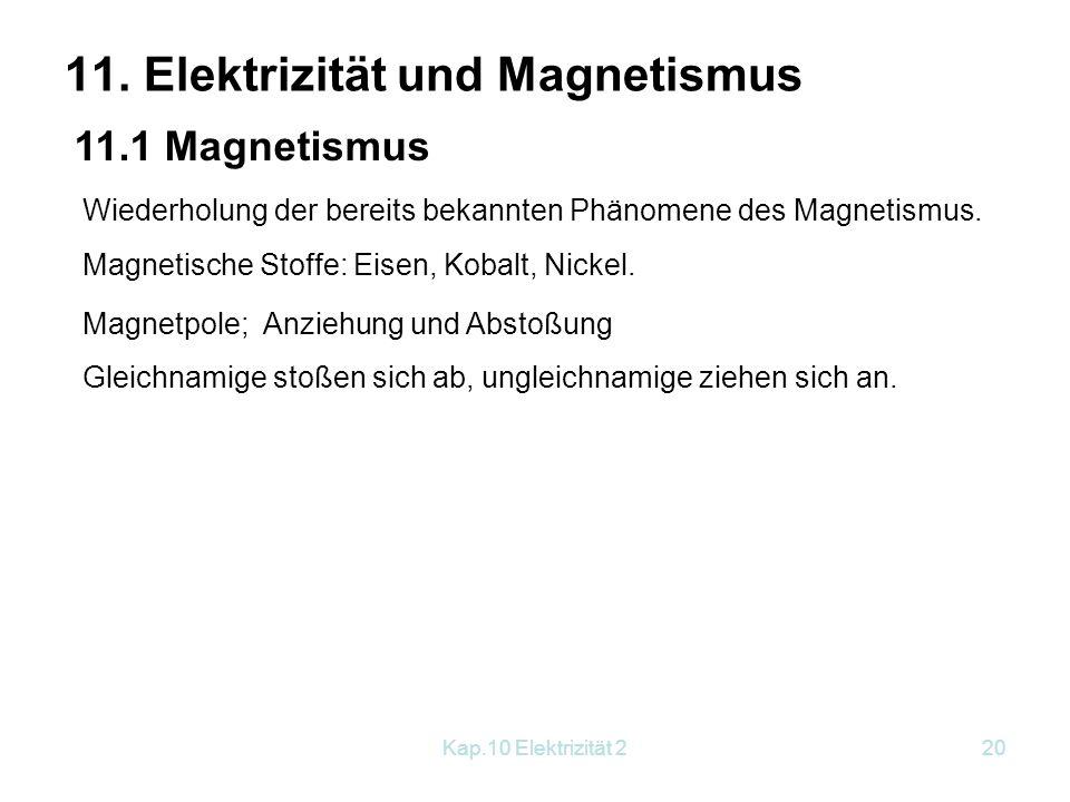 Lovely Elektrizität Und Magnetismus