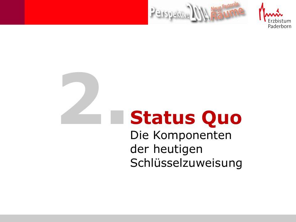 2. Status Quo Die Komponenten der heutigen Schlüsselzuweisung 6