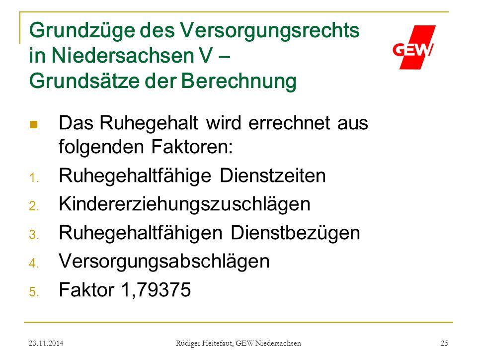 Rüdiger Heitefaut, GEW Niedersachsen