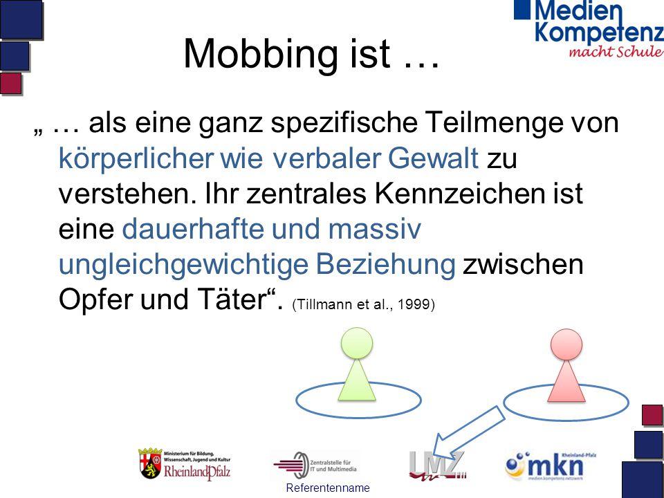 Mobbing ist …