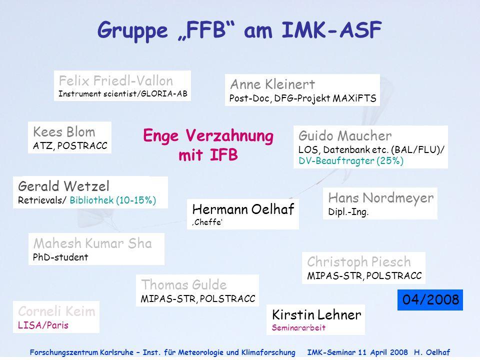 "Gruppe ""FFB am IMK-ASF"