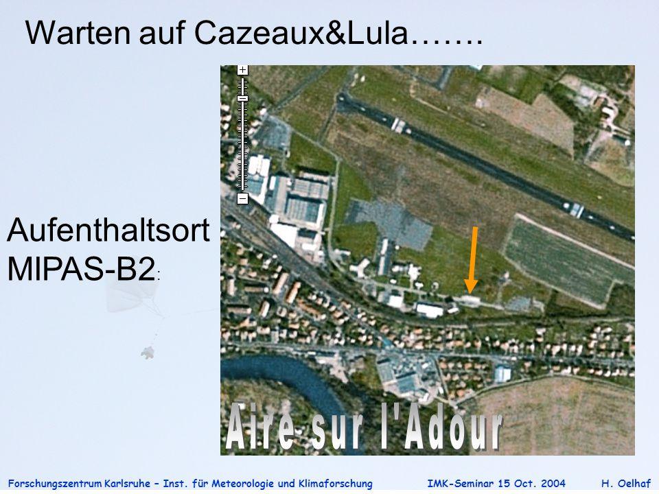 Warten auf Cazeaux&Lula…….