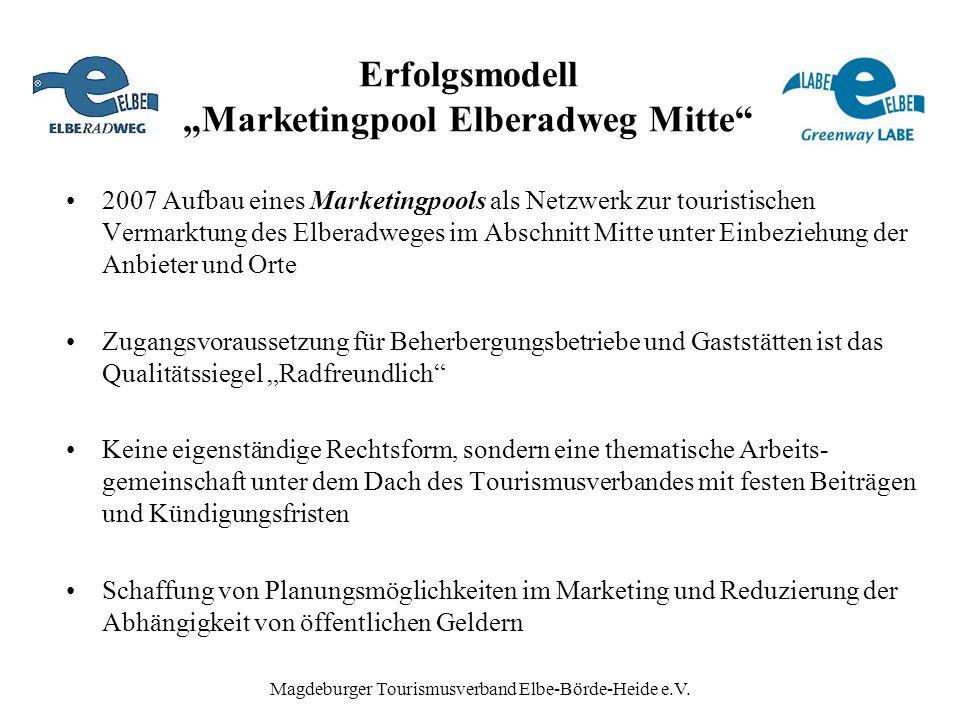 """Erfolgsmodell """"Marketingpool Elberadweg Mitte"""