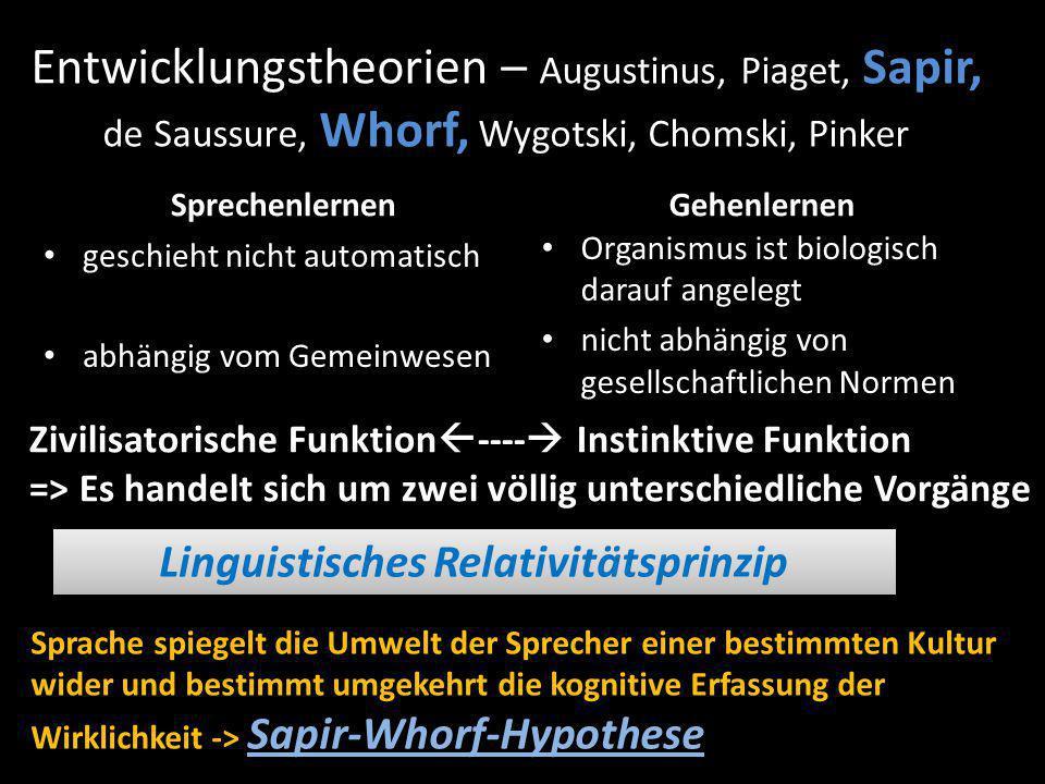 Linguistisches Relativitätsprinzip