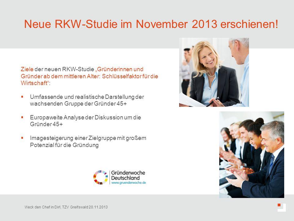 Neue RKW-Studie im November 2013 erschienen!