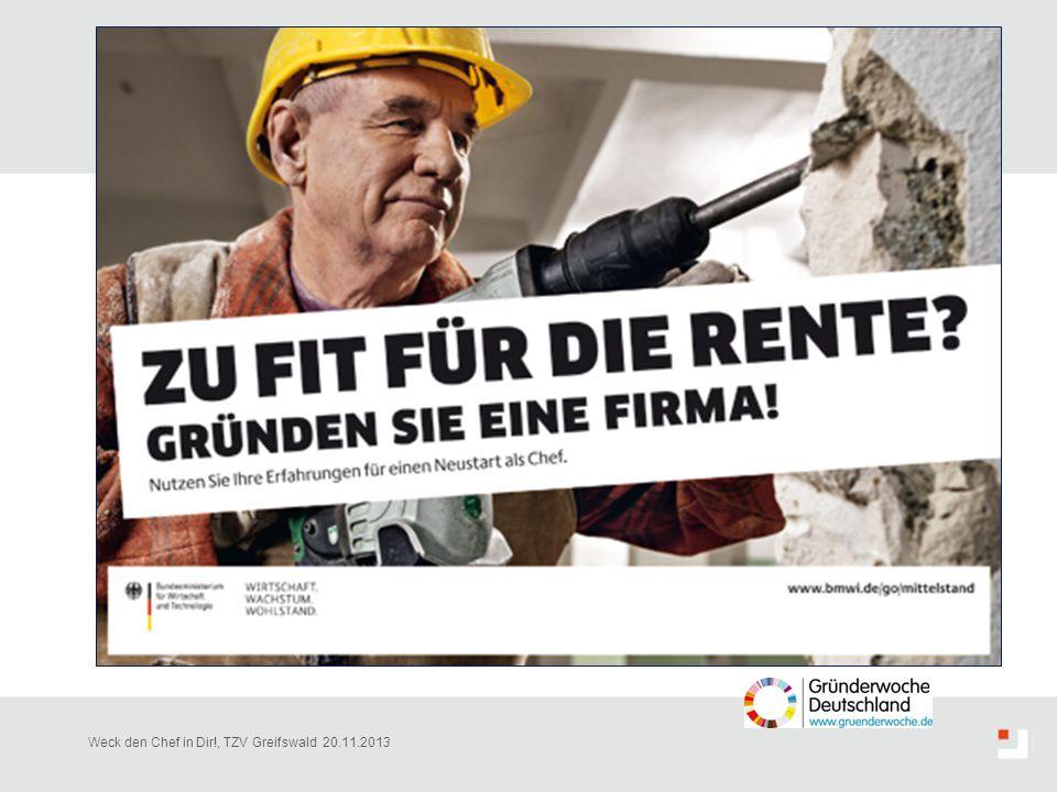 Nicht nur in Deutschland, sondern europaweit, ist in den letzten Jahren ein Anstieg der Gründungszahlen zugunsten von Menschen ab dem mittleren Alter zu verzeichnen. Es ist deshalb sehr wichtig, dieser Entwicklung den Weg zu ebnen.