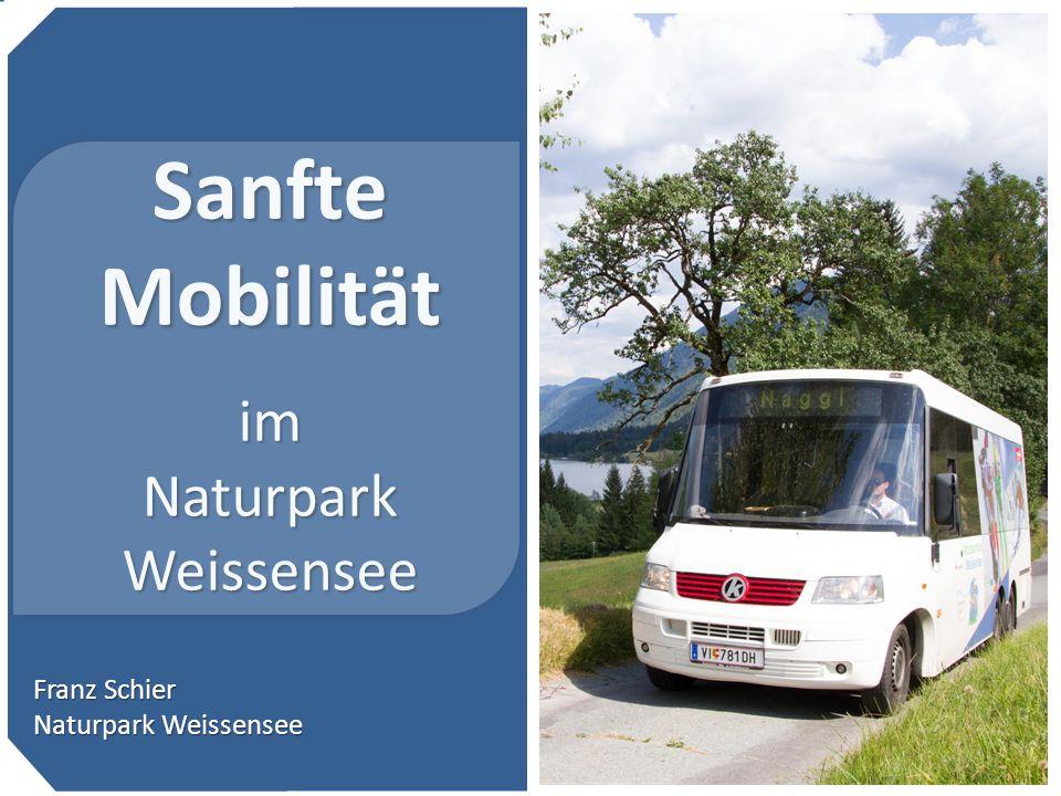 Sanfte Mobilität im Naturpark Weissensee … Franz Schier