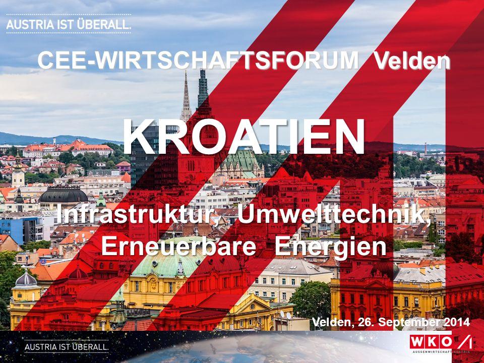 CEE-WIRTSCHAFTSFORUM Velden Infrastruktur, Umwelttechnik,